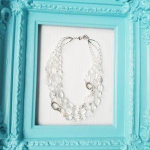Silpada Designs White Heat Necklace